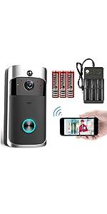 video doorbell+battery+charger