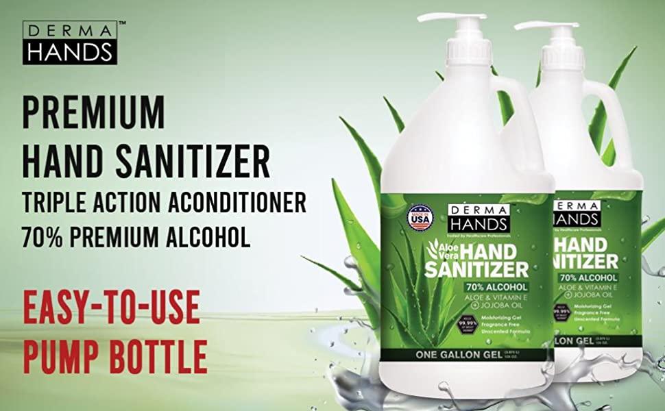 Aloe Vera Gel Hand Sanitizer