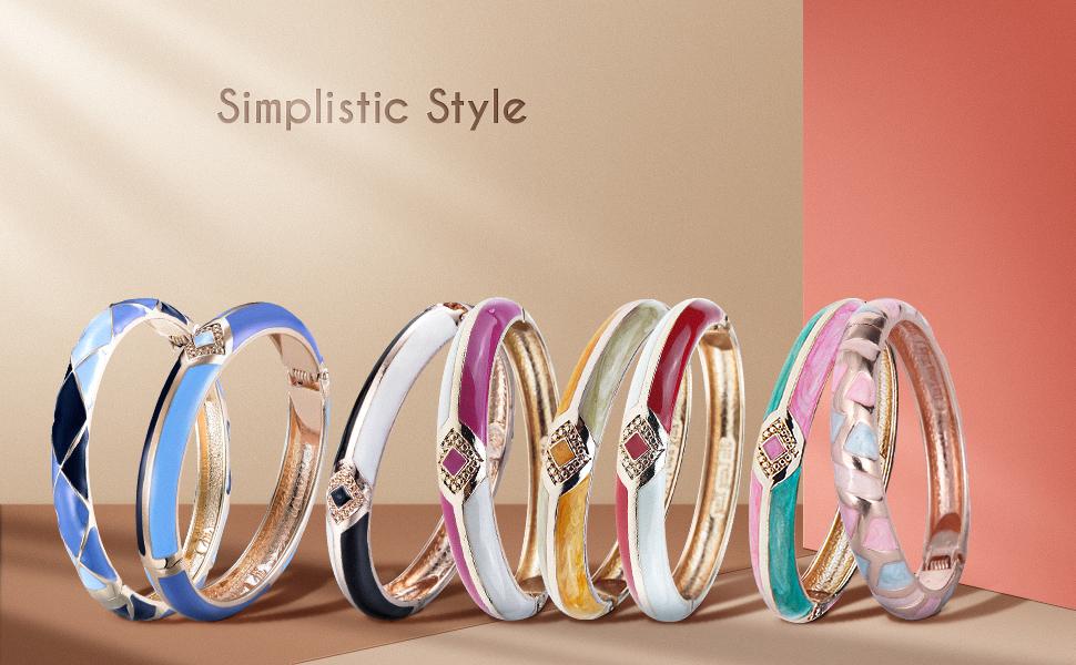 simplisttic style bracelets
