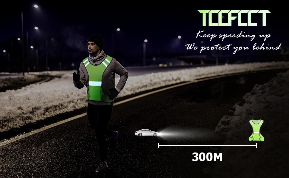 TCCFCCT REFLECTIVE RUNNING VEST