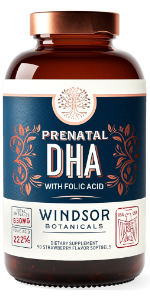 Prenatal DHA - Windsor Botanicals High Potency Supplements