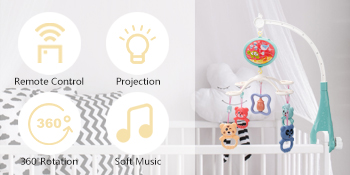 Multi-function baby mobile