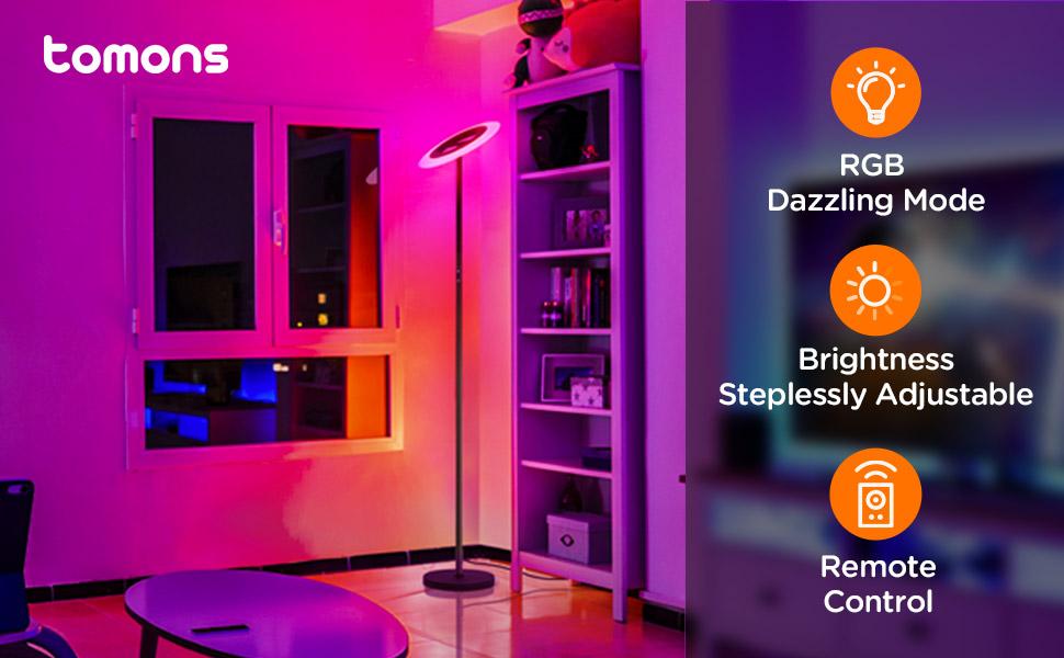 tomons RGB stehlampe