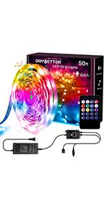 50FT Music led lights