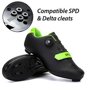 Delta cleats