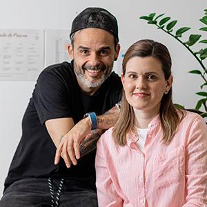 Juan Llorca y  Melisa Gomez
