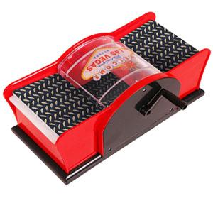 automatic card shuffling machine, card scuffler, card shuffler two deck