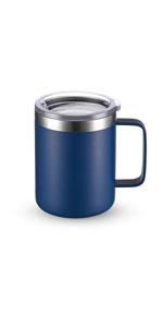 Navy Blue Insulated Coffee Mug