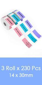 thermal label tape label maker adhesive label tape printing paper
