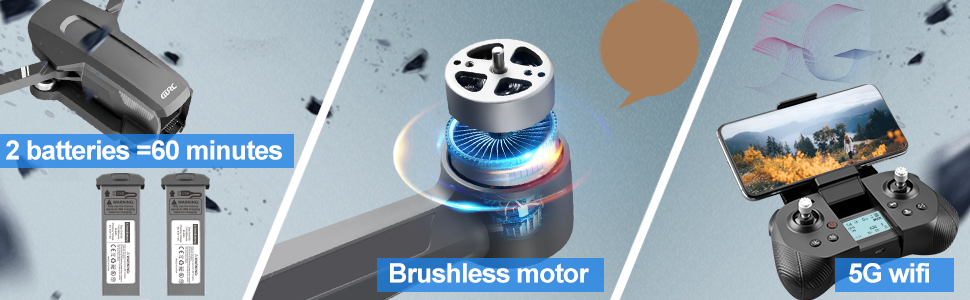 GPS Brushless motor drone