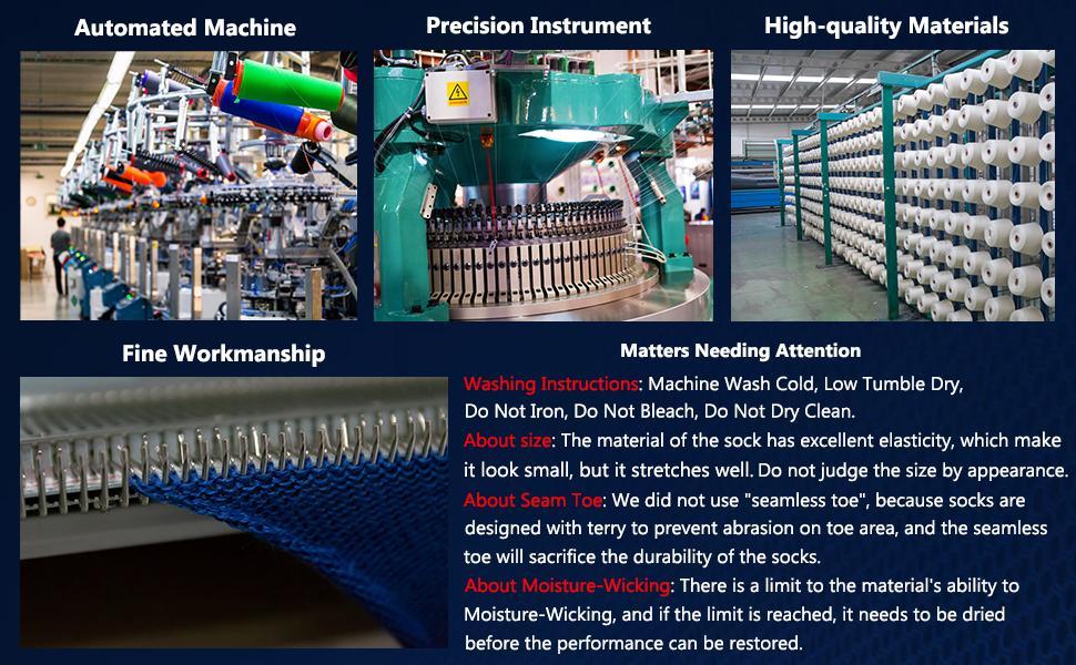 High-quality Materials Machine Wash seamless toe SOCKS