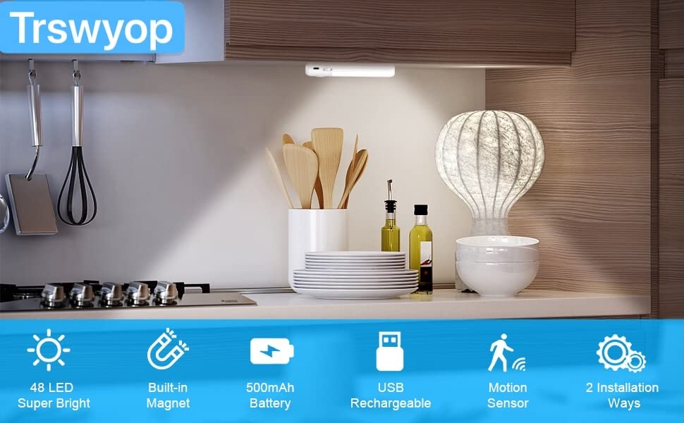 lampe de placard sans fil