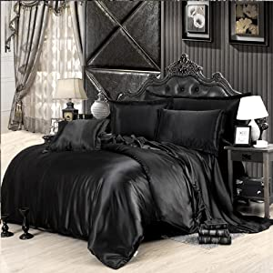 black comforter