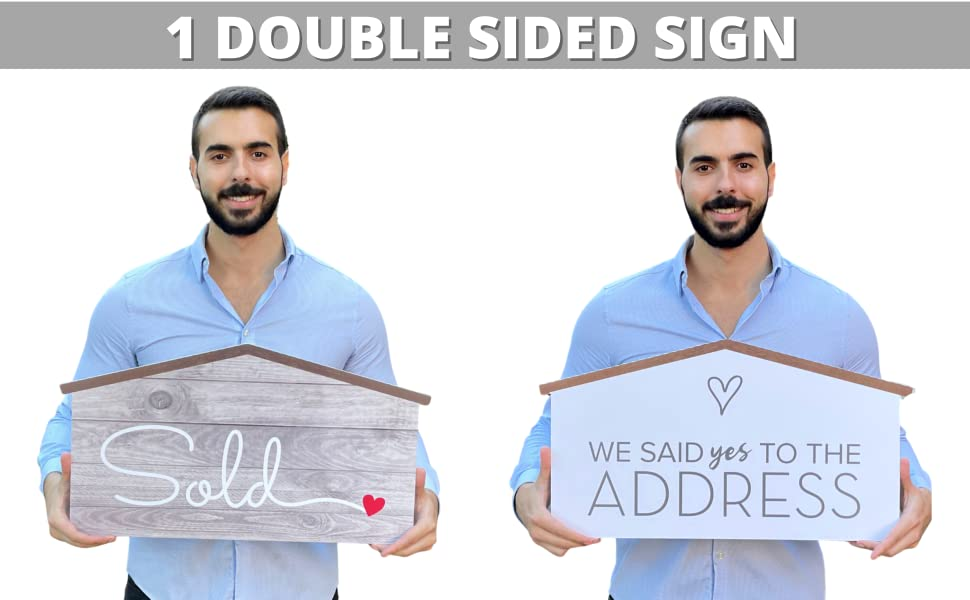 Double Sided Prop sign Just Sold and It's a Key Time