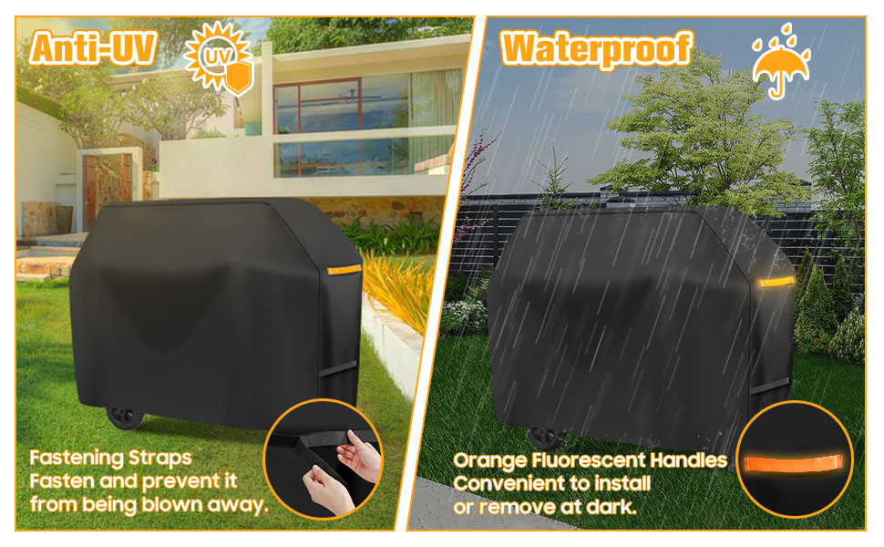 bbq grill cover gas bbq cover waterproof barrel bbq cover medium oil drum cover