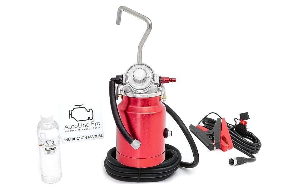 automotive smoke mahcine evap vacuum leak detector autoline pro