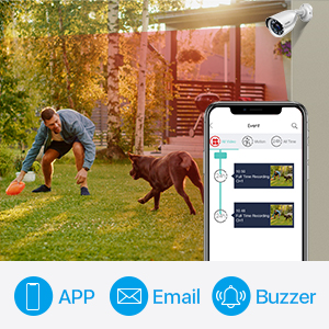Motion Detection and Rich Alerts