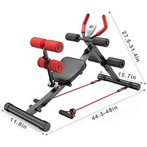 2 in 1 Fitness Equipment Ab Vertical Core Toner Ab Trainer Workout Machine