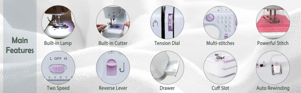 KPCB Multi-functional Sewing Machine