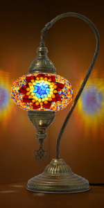 fire stunning table lamp