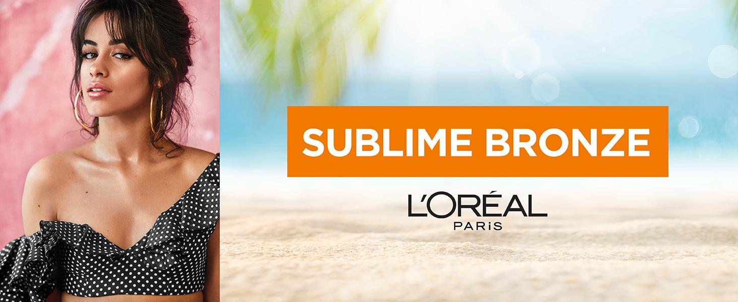 Model wearing Sublime Bronze Self-Tanning Lotion