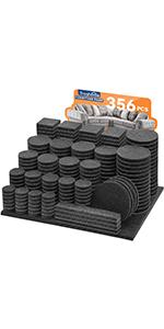 356pcs furniture pads