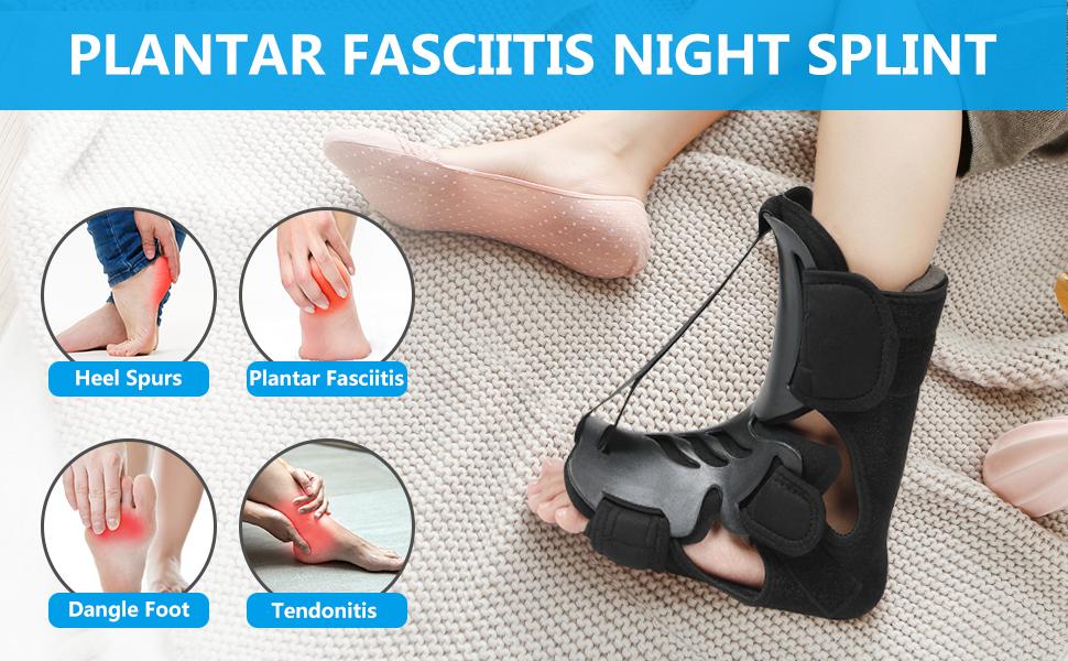 Pain Relief Heel Pain, Achilles Tendinitis and Foot Drop