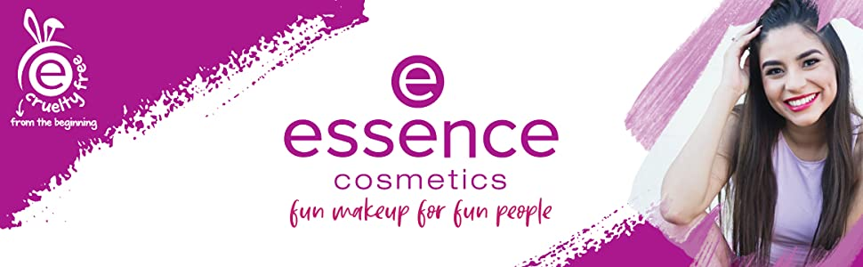 essence cosmetics - fun makeup for fun people, cruelty free since day 1!
