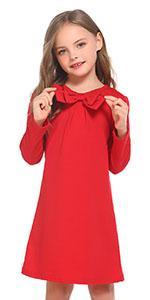 Girls Bow Tie Dress