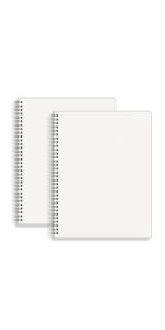 Large Dot Grid Spiral Notebook 8.5 x 11 in