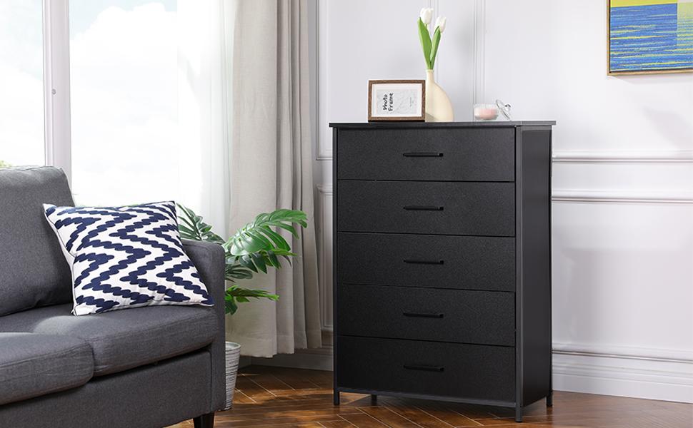 5 Drawer Dressers