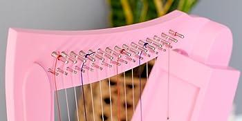 The strings of the schoenhut harp lyre