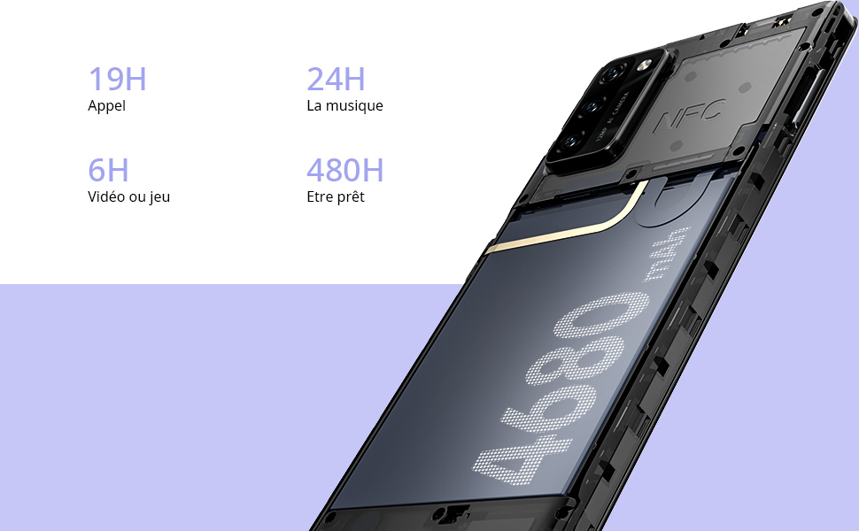 telephone portable pas cher blackview A100 android 11 smartphone pas cher 4G