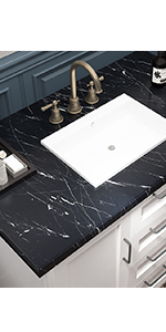 Matte Black Marble Wallpaper Peel and Stick Countertops Marble Contact Paper for Bathroom Table
