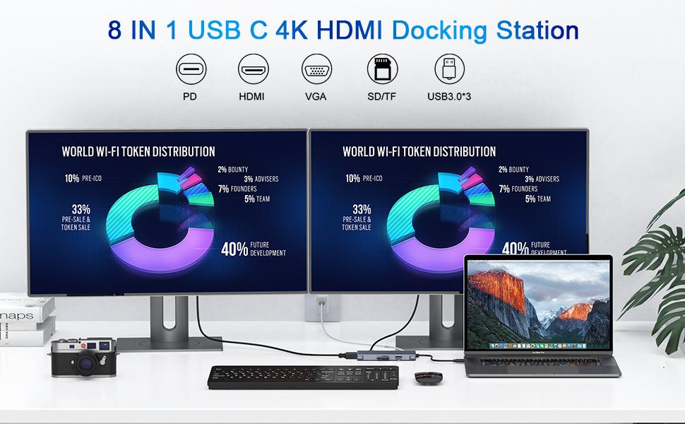 USB C Hub to 4K HDMI