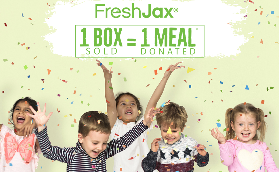 FreshJax Organic Spices Donate One Meal For Every Gift Set Sold