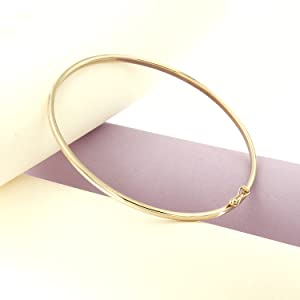 14k gold bangles