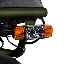electric bike rear tail light