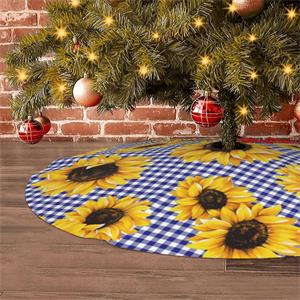 Sunflowers Golden   Xmas Tree Holiday Occasion Party Supplies Ornaments Christma Decorations