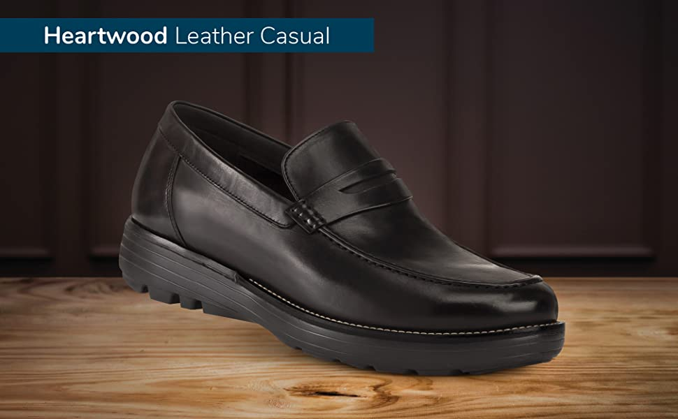 GDEFY Heartwood Leather Casual Shoes