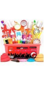 Kit Slime unicornio DIY Manualidades niñas niños regalo cumpleaños magico fluffy ultimate navidad