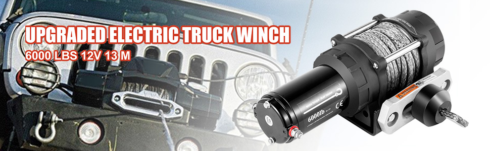 truck winch 6000lb