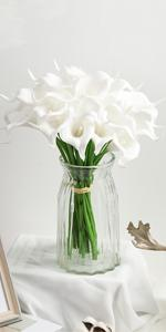 White Calla Lily Artificial Flowers