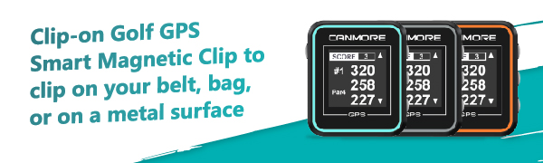 CANMORE GPS GOLF Handheld