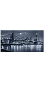 Brooklyn Bridge Picture Wall Art Gallery Canvas Wrapped