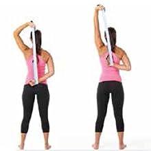 yoga strap poses