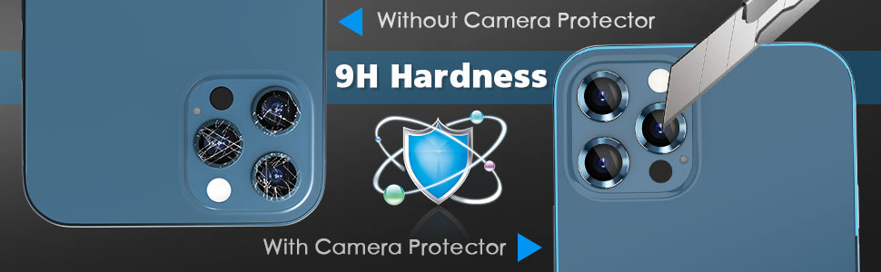 9h hardness protect your lens