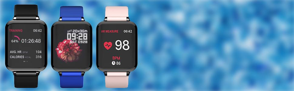 Smart Watch, Fitness Tracker for Android and iOS Phones