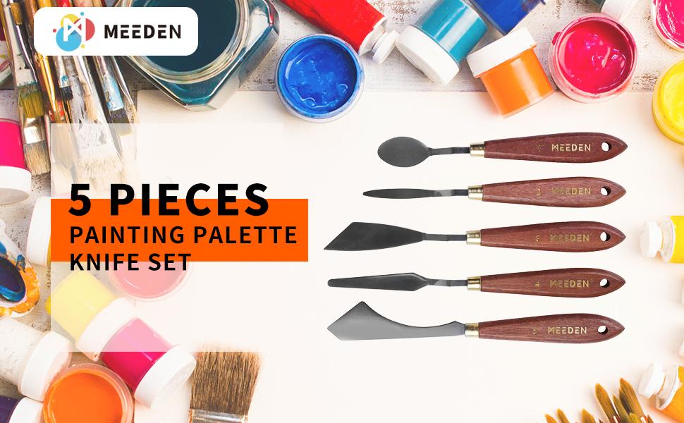 5-Piece Painting Knife Set