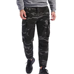 mens camoflage cargo pants